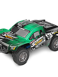 RC Car WL Toys 12403 2.4G Car Off Road Car High Speed 4WD Drift Car Buggy 1:12 Brush Electric 45 KM/H Remote Control Rechargeable Electric