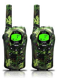 cheap -668 462 Walkie Talkie Handheld Low Battery Warning Power Saving Function VOX Dual Display CTCSS/CDCSS Keylock Backlight LCD Display Scan