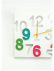 1pc  Creative Electronic Wall Clock Fashion Personality Hollow Square Living Room Wall Clock Home Furnishing Decorative Wall Clock