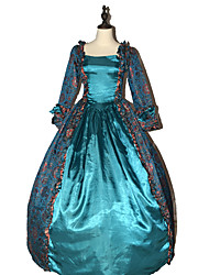 cheap -Steampunk® High Quality Marie Antoinette Renaissance Red Ball Gown Gone with the Wind Period Dress with Train Theatrical Costume