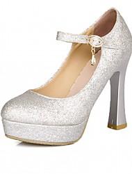 cheap -Women's Heels Comfort Novelty Synthetic PU Spring Summer Fall Winter Wedding Casual Office & Career Dress Party & Evening WalkingComfort