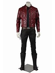 Superhéros Cosplay Costume de Cosplay Costume de Soirée Bal Masqué Pour Halloween Cosplay de Film Manteau Haut Pantalon Ceinture Plus
