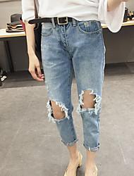 i jeans del foro coreano selvatici femminile Harlan nove nuovi studenti un buon autunno e tessuti invernali