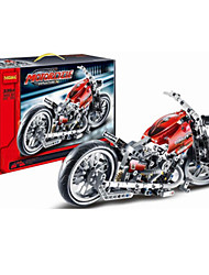 cheap -Building Blocks For Gift  Building Blocks Model & Building Toy Motorcycle Plastic 2 to 4 Years 5 to 7 Years 8 to 13 Years 14 Years & Up