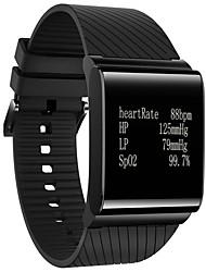 BLE 4.0 Heart Rate Smart Wristband Blood Pressure Oxygen Monitor Bracelet