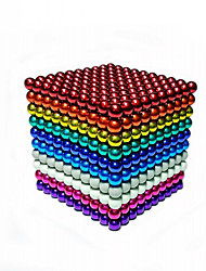 cheap -Magnet Toy Building Blocks Neodymium Magnet Magnetic Balls 216pcs 5mm Magnet Chic & Modern High Quality Circular Toy Kid's Gift