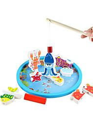 billige -Fiskeri Legetøj Legetøj Originale Fisk Legetøj Træ Klassisk & Tidløs Stk. Drenge Barnets Dag Gave