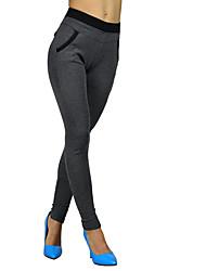 cheap -Women's Cross - spliced Legging,Polyester,Flexible/casual,Comfortable