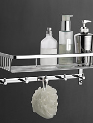 cheap -Bathroom Shelf Contemporary Brass Chrome