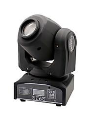 U'King® 30W 8PCS Snowflower Effect Patterns LED Spot Moving Head Stage Light DMX512 Auto Voice Control Black for DJ KTV Xmas 1pcs