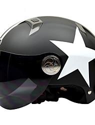cheap -BEON 102 Motorcycle Summer Helmet Half Helmet Harley Helmet Anti-Fog Anti-UV Security Helmet Unisex Fashion