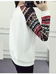 Sign spring models long-sleeved T-shirt was thin large size women hedging female pattern thin section influx of students