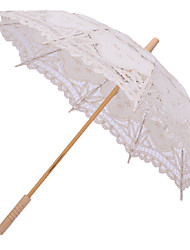 Handmade Wedding Embroidery Cotton Lace Sun Parasol Umbrella (More Colors)
