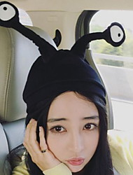 cheap -Women Eye Printing Wool Funny Insect Cartoon Solid Color Knitted Wool Cap