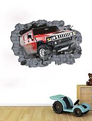 Moda Abstracto Adesivos de Parede Autocolantes 3D para Parede Autocolantes de Parede Decorativos,Papel Material Decoração para casa