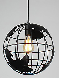 cheap -20cm Vintage Creative Terrestrial globe Pendant Lights Living Room Restaurant Kids Room
