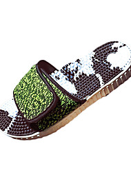 Men's Slippers & Flip-Flops Summer Comfort Fabric Casual Gray Green/Black Walking