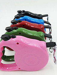 cheap -Dog Leash Breathable Safety Solid Silicone Rainbow