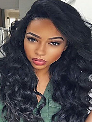 New!!!7A Brazilian Human Virgin Hair Glueless Full Lace Wigs With Baby Hair Fashion Style For Black Woman