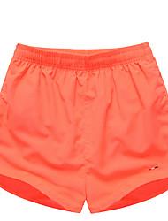 Da uomo Largo Pantaloni della tuta Pantaloncini Pantaloni-Semplice Boho Attivo Casual Spiaggia Sportivo Tinta unita Con ricamiA vita