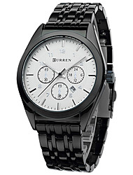 cheap -Men's Sport Watch Dress Watch Fashion Watch Wrist watch Quartz Calendar Alloy Band Charm Casual Multi-Colored