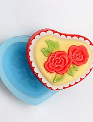Moule de Cuisson Fleur Pour Gâteau For Chocolate Pour Bonbons SilikonPapier à cuire Ecologique Anniversaire Vacances Nouvel An Action de