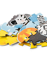 economico -Puzzle Gioco educativo Giocattoli Animali Originale Legno Da ragazzo Da ragazza 1 Pezzi