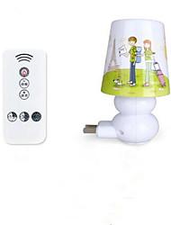 cheap -Remote Control Intelligent Nightlight Baby Bedroom Bedside Lamp Lights Timing Lights