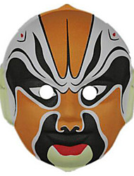 cheap -CHENTAO Halloween Masks Hand-Painted Mask Toys Toys Plastic Horror 1 Pieces Carnival Children's Day Masquerade Gift