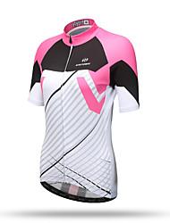 XINTOWN Maillot de Cyclisme Homme Femme Unisexe Manches Courtes Vélo Hauts/Top Séchage rapide Respirable Poche arrière Anti-transpiration