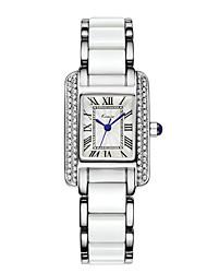 cheap -Women's Wrist Watch Hot Sale Alloy Band Luxury / Fashion / Elegant Blue / Silver