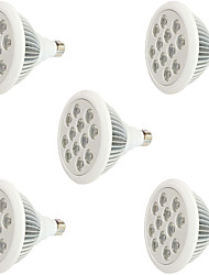 cheap -800 lm E27 Growing Light Bulbs 12 leds High Power LED Blue Red AC 85-265V