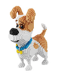 cheap -BALODY Building Blocks 2100 Dog Diamond Movie Character Children's Gift