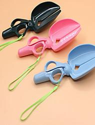 Gatto Cane Palette igieniche Portatile Nero Blu Rosa Plastica