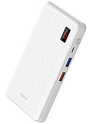 banco do poder de bateria externa 5V 1.0A 3,0A #A Carregador de bateria QC 3.0 Output Múltiplo com cabo LCD
