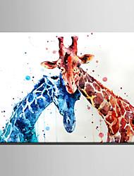Животное Modern,1 панель Холст Вертикальная Печать Искусство Декор стены For Украшение дома