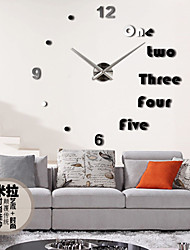 cheap -1 PC NEW Best Wood Wall Clock Vintage Quartz Large Wall Watch Roman Numbers European Style Mordern Design Wall Clocks