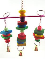 baratos -Pássaro Brinquedos Madeira