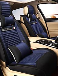 Недорогие -автомобиля подушки сиденья подушки белье четыре сезона универсальный чехол для сиденья дышащий и комфортный набор из пяти