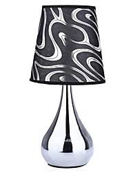 YouOKLight 1PCS E26/E27 AC110V US Plug Socket Vase Shaped Buffet Lamp Candlestick Table Light with Shade
