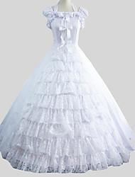 cheap -Sweet Lolita Dress Princess Women's One Piece Dress Cosplay Cap Sleeveless