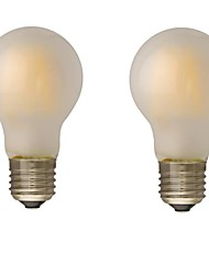 B22 E26/E27 LED Filament Bulbs G60 4 leds COB Dimmable Warm White 400lm 2700-3500K AC 220-240 AC 110-130V