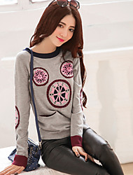 Price Drops section 2017 spring hit color fun gray pocket straight thin cotton knit sweater female tide