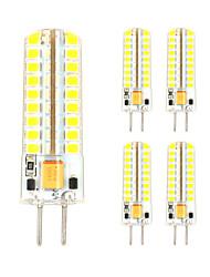 economico -5 pezzi 3 W 300-330 lm GY6.35 Luci LED Bi-pin T 72 Perline LED SMD 2835 Decorativo Bianco caldo / Luce fredda 12 V