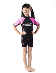 SLINX® Women's Kid's 2mm Dive Skins Wetsuits Waterproof Breathable Thermal / Warm Quick Dry Windproof Coolmax Corduroy Memory Foam Tactel