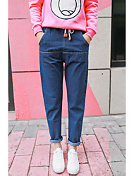 cheap -Women's Loose Pants - Other, Pure Color