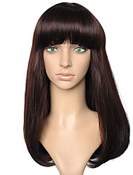 cheap -Synthetic Fiber Wig Long Straight Style Brown Women Costume Wig Cosplay Wigs
