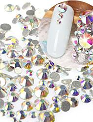 1 bag Chiodo decorazione di arte strass Perle Cosmetici e trucchi Fantasie design per manicure