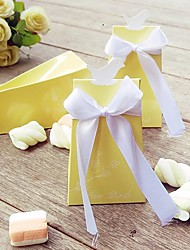 cheap -Creative Card Paper Favor Holder With Ribbons Favor Boxes Favor Bags Favor Tins and Pails Gift Boxes Cookie Bags Favor Cones Candy Jars