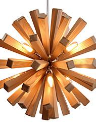 preiswerte -Landhaus Stil LED Pendelleuchten Moonlight Für Wohnzimmer Schlafzimmer Esszimmer Studierzimmer/Büro Wärm Weiß 110-120V 220-240V Inklusive